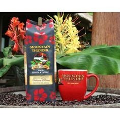 100 Kona Coffee Premium French Roast Moutain Thunder Brand Whole Bean 16 Oz 453 g ** Be sure to check out this awesome product. Note: It's an affiliate link to Amazon.