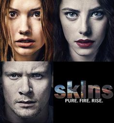 My absolute favorite British show, SKINS <3 The first season will always be my favorite.