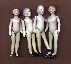 Dollhouse Dolls. Love Grandpa's heels!