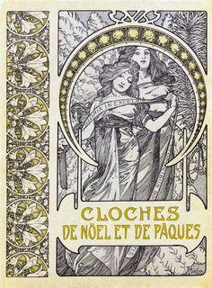 Cloches de Noël et de Pâques 1900