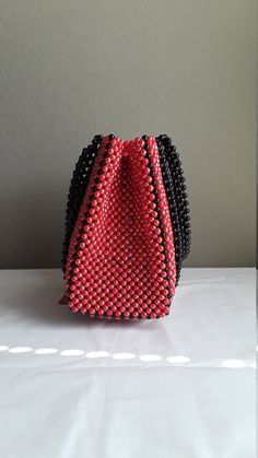 85d73e27b64e1 a beaded handbag a bead purse a acrylic bead purse a