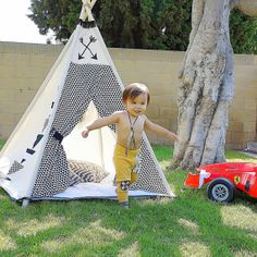 Children's Teepee - Littlefierce One @ Etsy