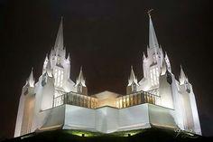 San Diego, California, LDS Temple  We love Temples at: www.MormonFavorites.com