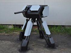 Make Your Own Autonomous Paintball Sentry Gun