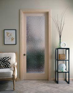 Ordinaire Bordeaux Decorative Glass Interior Door