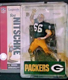 2006 McFarlane NFL Football Legends Series 2  Ray Nitschke Action Figure #50 #McFarlaneToys