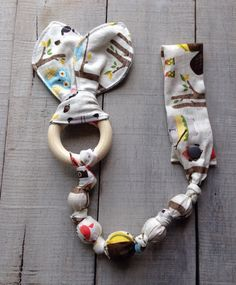 cloth wood teething toy - Google Search
