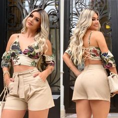 Lindeza que voltou hoje meninas, já disponível na loja 🤩🤩 Short Outfits, Sexy Outfits, Chic Outfits, Trendy Outfits, Fall Outfits, Short Dresses, Summer Outfits, Fashion Outfits, Chor