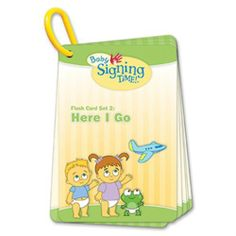 These flash cards are designed to reinforce all the American Sign Language signs taught in Baby Signing Time Volume Here I Go, but can also be used alone. Baby Signing Time, American Sign Language, Birthday List, Teaching, Education, Games, Toys, Fun, Signs