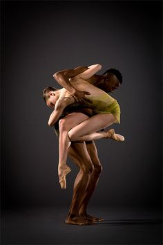 Corey Scott-Gilbert and Meredith Webster of Lines Ballet