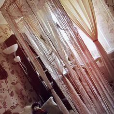 Gypsy Bedroom Decor  Bed Crown  Boho Nursery  от iCatchUrDream