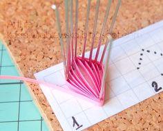 ArtLife: DIY Tutorial: Pink Husking Multilayered Flower *** МК: Двухярусный розовый цветок на булавках
