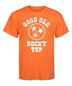 Orange 'Good Ole Rocky Top' Tee - Men's Regular