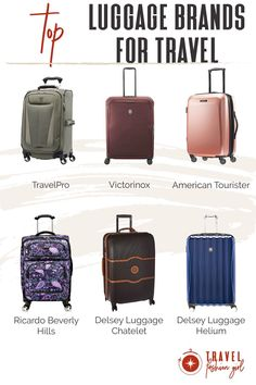 We interviewed twenty travel experts to find out their top suitcase recommendations. Click through to read and discover the best luggage brands for travel and why they love them! #TravelFashionGirl #TravelFashion #TravelLuggage #luggage #luggagebrands #luggageset Best Luggage Brands, Luggage Sets, Travel Luggage, Travel Hacks, Travel Ideas, Travel Tips, Packing Light, Travel Accessories, Travel Style