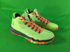 23c8a4490b3 Nike Air Jordan CP3 IX AE Chris Paul Mens Size 10 Basketball Ghost Green 3M  NEW