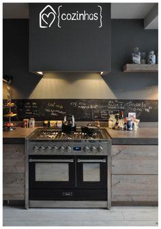 Inspiração - cozinha #kitchen #casadasamigas