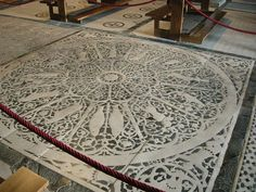 San Miniato al Monte (Florence) - Zodiac floor. See Fred Getting's book on astrological symbolism of church.