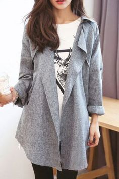 sophisticated trench coat