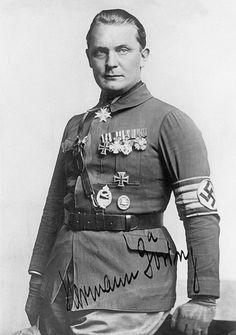 Hauptmann Hermann Wilhelm Göring.