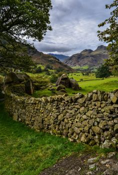 Langdale Valley - Lake District, Cumbria, England