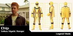 Chip, The Yellow Mystic Force Ranger Power Rangers Mystic Force, Power Rangers Ninja Storm, Go Go Power Rangers, Pawer Rangers, Iron Man, Ice Mage, Yellow, Samurai, Cartoons