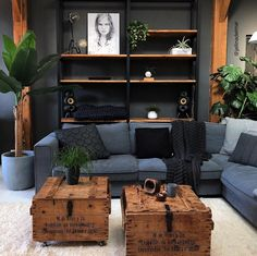 Cozy Small Living Room Decor Ideas For Your Apartment decor Home Living Room, Living Room Decor, Living Spaces, Manly Living Room, Masculine Living Rooms, Dark Wood Living Room, Masculine Interior, Living Room Ideas Dark Wood Furniture, Man Cave Living Room
