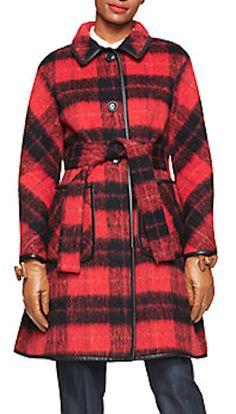 darling checkered coat