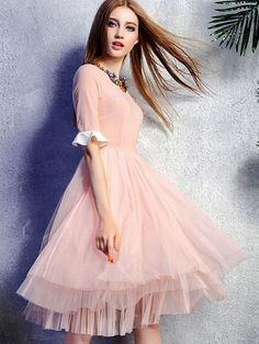 tea length & tulle for the sweetest of the sweet
