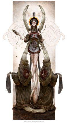Saint of Parasites by Keithwormwood.deviantart.com