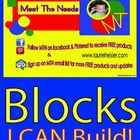 You can now turn your math center into more fun with this new block addition. Block Cards-I CAN Build is a picture based learning tool that allows ...