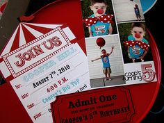 circus/carnival party