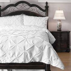 ExceptionalSheets 4 Piece Pinch Pleat Comforter Set -