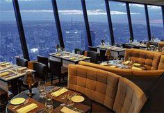 CN Tower Restaurant Toronto