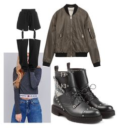 """Untitled #2207"" by tazoaicamiha ❤ liked on Polyvore featuring Tommy Hilfiger, Puma, Fendi and Zara"