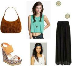 Style Remix: Maxi Skirt - College Fashion