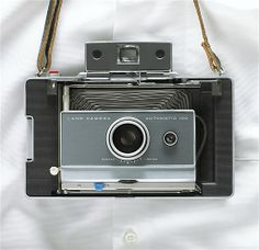 Decades before the selfie, it was pretty remarkable back in the 1960s to have the instant gratification of the Polaroid Land Camera Automatic 100... Image: Remember these? (© Clinton Hussey/Corbis)