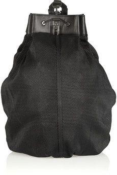 2160e160cb75 Alexander Wang - Scuba mesh leather bag