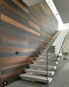 Modern staircase - Elegant Glass Stairs Design Ideas For You This Year – Modern staircase New Staircase, Floating Staircase, Staircase Railings, Staircase Design, Staircases, Stair Design, Staircase Ideas, Stairs Architecture, Architecture Design
