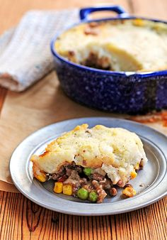 Shepherd's Pie - sub extra veggies/seitan for the meat