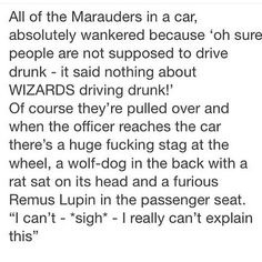 I initially pictured Remus on the wrong side!