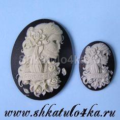 Шкатуло4ка.ru-Комбинированный силиконовый молд Бал Монстров-24 (30х40 и 25х18)