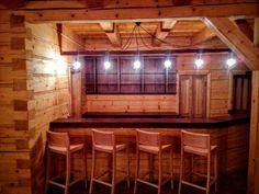 Wooden bar Wooden Bar, Timber Wood