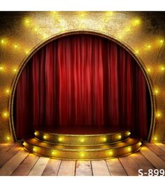 Golden Spark Light Red Curtain Stage Background Photography Custom Vinyl Backdrops with Wood Floor for Kids Photos Wedding Props Photo Booth Background, Background For Photography, Photography Backdrops, Backdrop Background, Background Images, Red Photography, Photography Studios, Photography Marketing, Gold Background