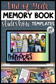 End Of Year Activities, Add Music, End Of School Year, Memory Books, Student Gifts, Clipart Images, Special Education, Have Fun, How To Memorize Things