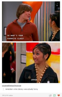 The Suite Life of Zack and Cody with Zac Efron loved this episode Tumblr Funny, Funny Memes, Hilarious, Jokes, Funny Quotes, Zack Et Cody, Zack And Cody Funny, London Tipton, Sprouse Bros