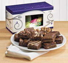 Personalized Feel-Better Brownies Delivered! - Karis Cube   Fairytale Brownies Blog