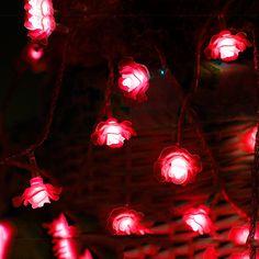40led Snowflake String Led Guirlande Verlichting Voor Vakantie ...