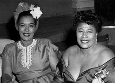 Billie Holiday and Ella Fitzgerald, 1950s