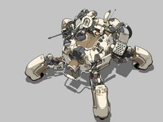 Come here if you have a mecha addiction, or you want to have a mecha addiction ^_^. Cyberpunk Rpg, Gundam, Armadura Medieval, Alien Concept Art, Mecha Anime, Robot Design, Art Et Illustration, Ghost In The Shell, Machine Design