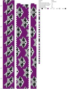 Bildergebnis für bead crochet c[tvs Bead Crochet Patterns, Bead Crochet Rope, Beading Patterns, Loom Beading, Bohemian Rug, Crochet Necklace, Bracelets, Diy Crafts, Beads